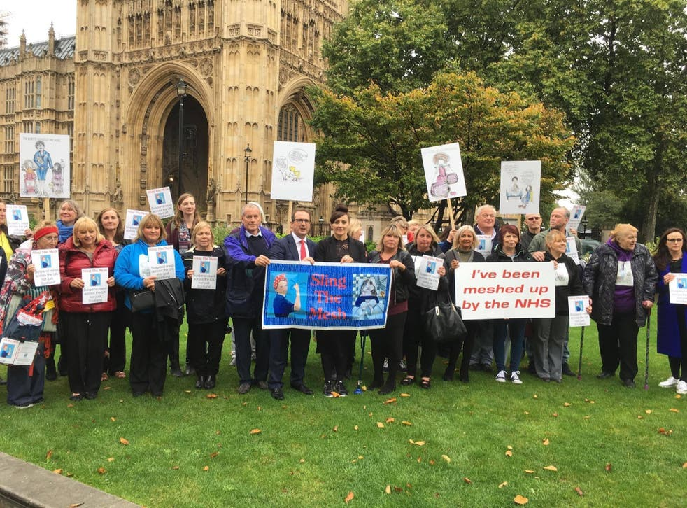 A cross-party group recently took the issue to Parliament, calling for a suspension and full inquiry into the vaginal mesh scandal