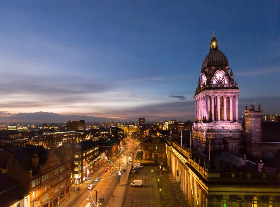 Leeds is the UK's third biggest city