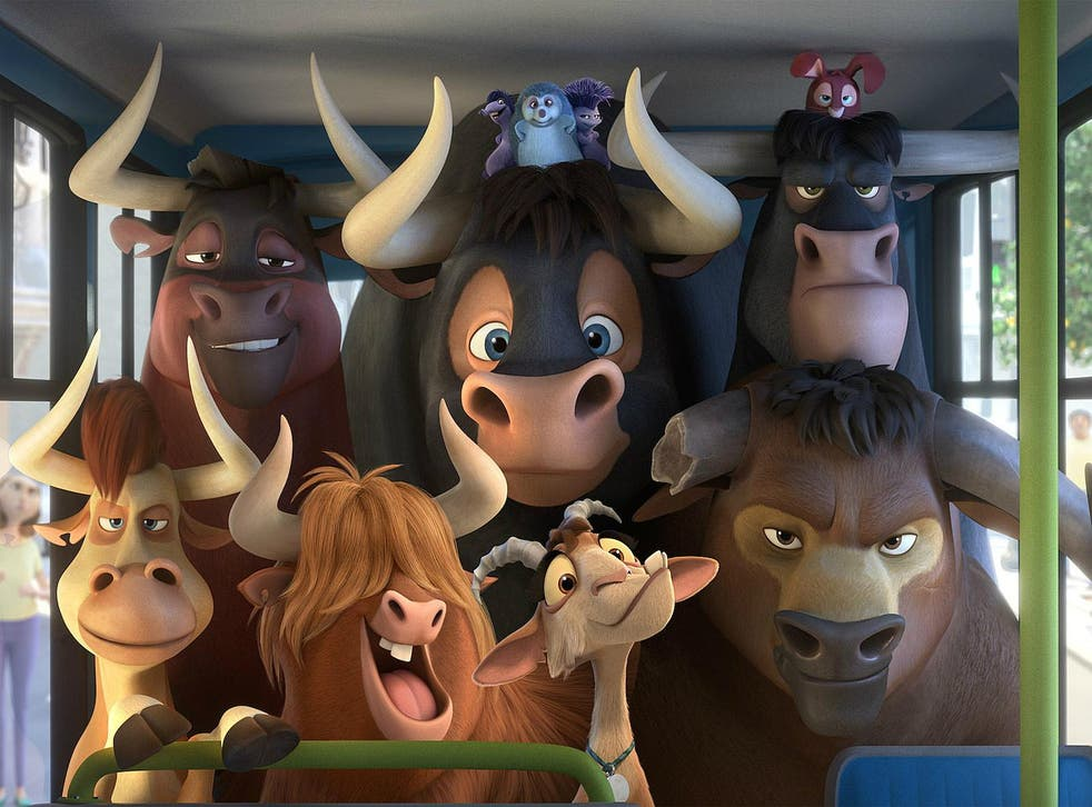 'Ferdinand' is stuck on the fence when it comes to that tricky question about whether bullfighting is sport or blood-soaked barbarism