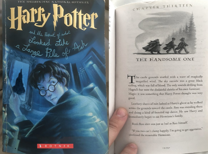 There's a new Harry Potter chapter online and people can't handle it