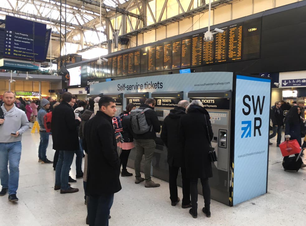 Ticket to ride? New Year's Eve rail services to and from London Waterloo are under threat