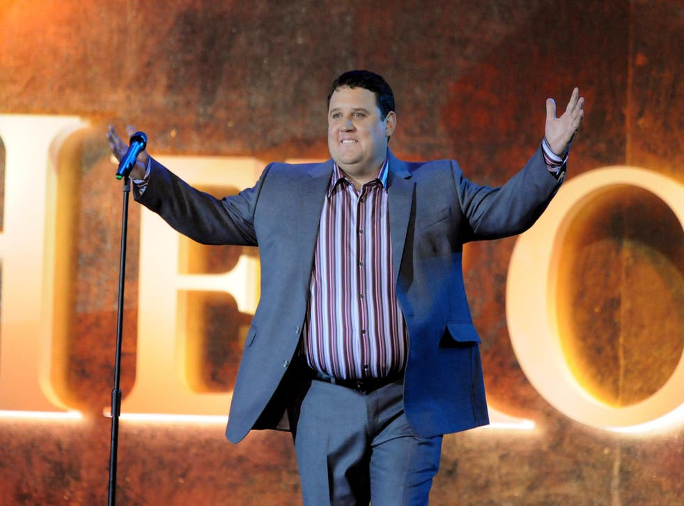 Peter Kay performs live on stage during the Heroes Concert at Twickenham Stadium, in aid of the charity Help For Heroes, on September 12, 2010 in London, England. Credit: Jim Dyson/Getty Images.