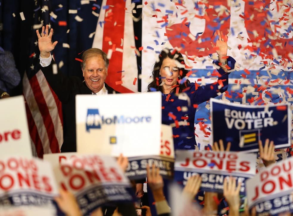 There were plenty of people who believed Jones could not win