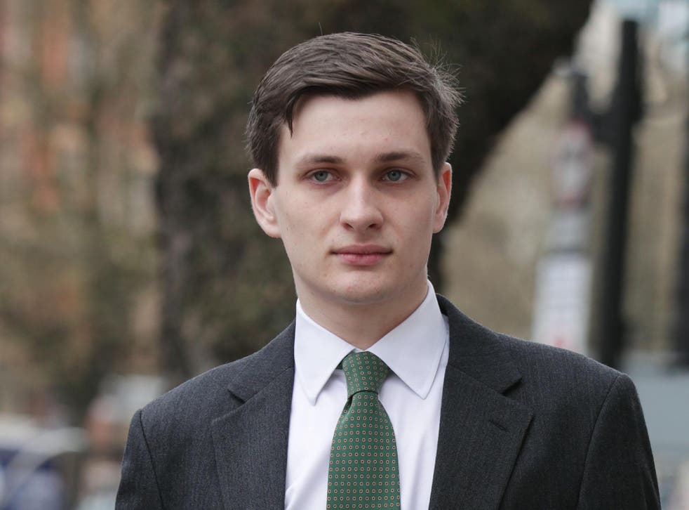 Samuel Armstrong said his life has been 'turned upside down' following the accusation of rape after he was cleared of all charges at Southwark Crown Court