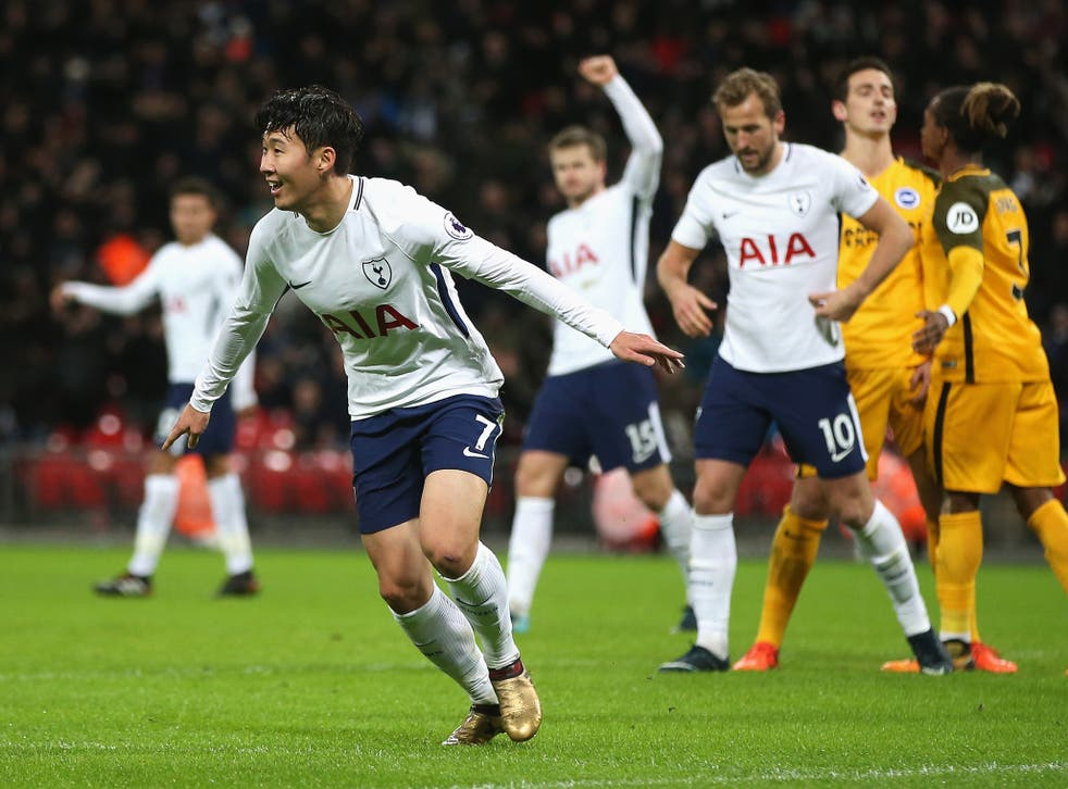 Spurs overcame a stubborn Brighton at Wembley