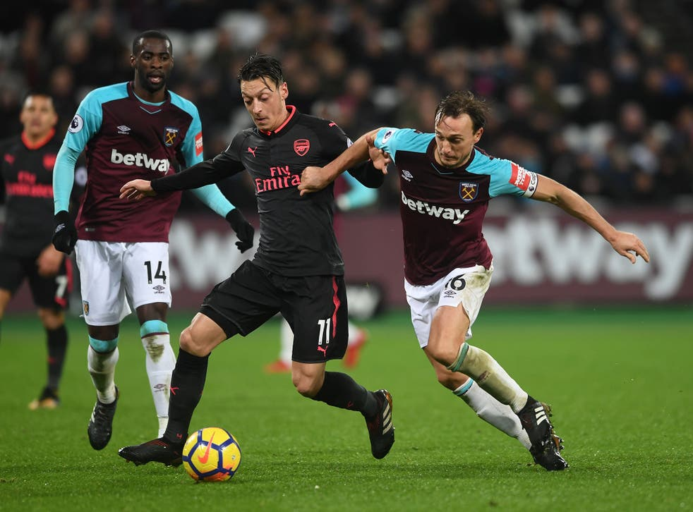 West Ham held Arsenal to a goalless draw