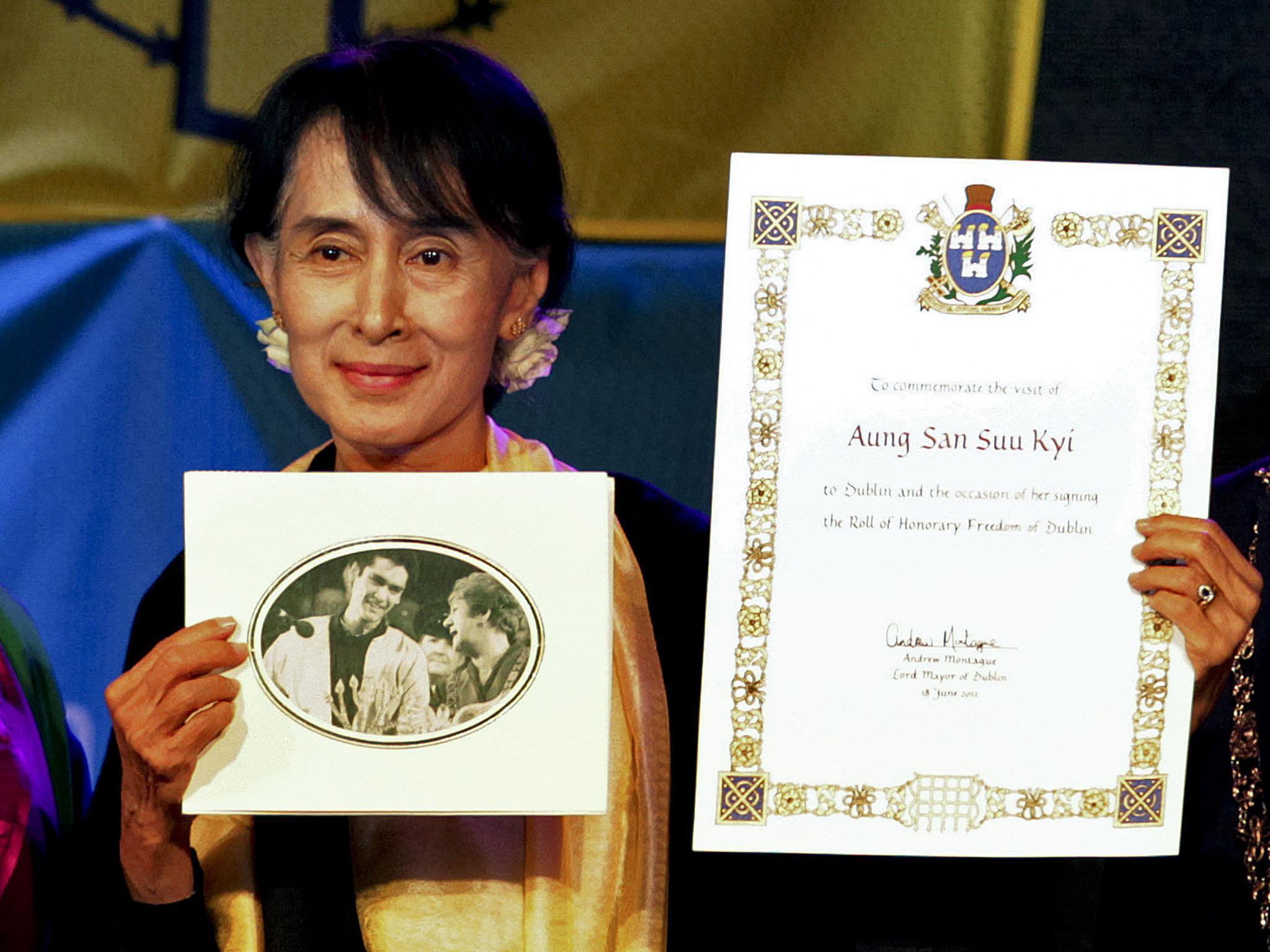 Aung San Suu Kyi stripped of the Freedom of Dublin as Burma's Rohingya crisis deepens