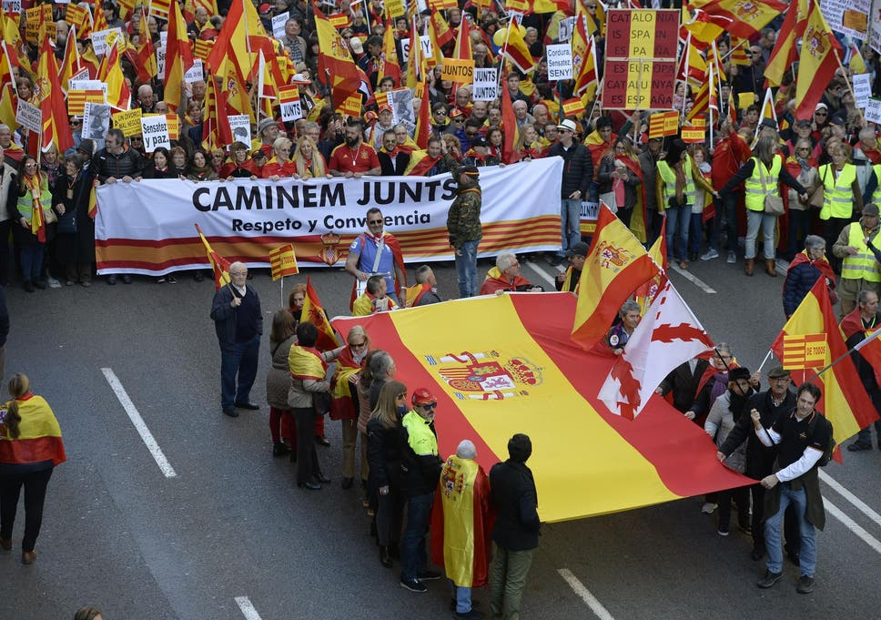 Spanish Man Killed For Wearing Colours Of National Flag On His