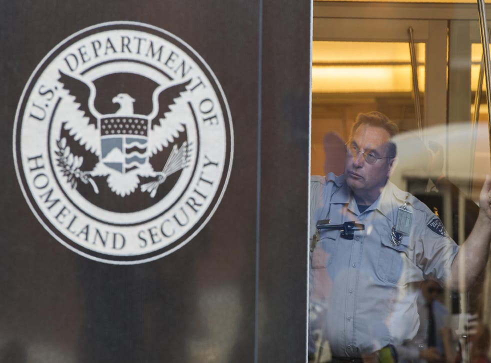 The Department of Homeland Security says this is common practice