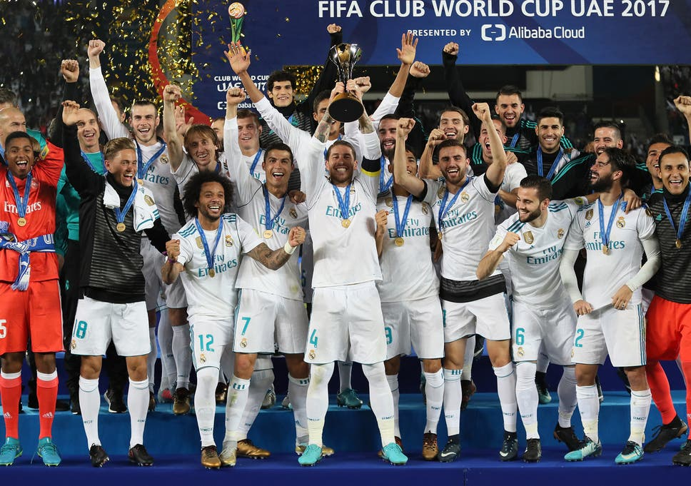 f100de89b Cristiano Ronaldo ends Gremio s resistance as Real Madrid win back-to-back  Club World Cup titles