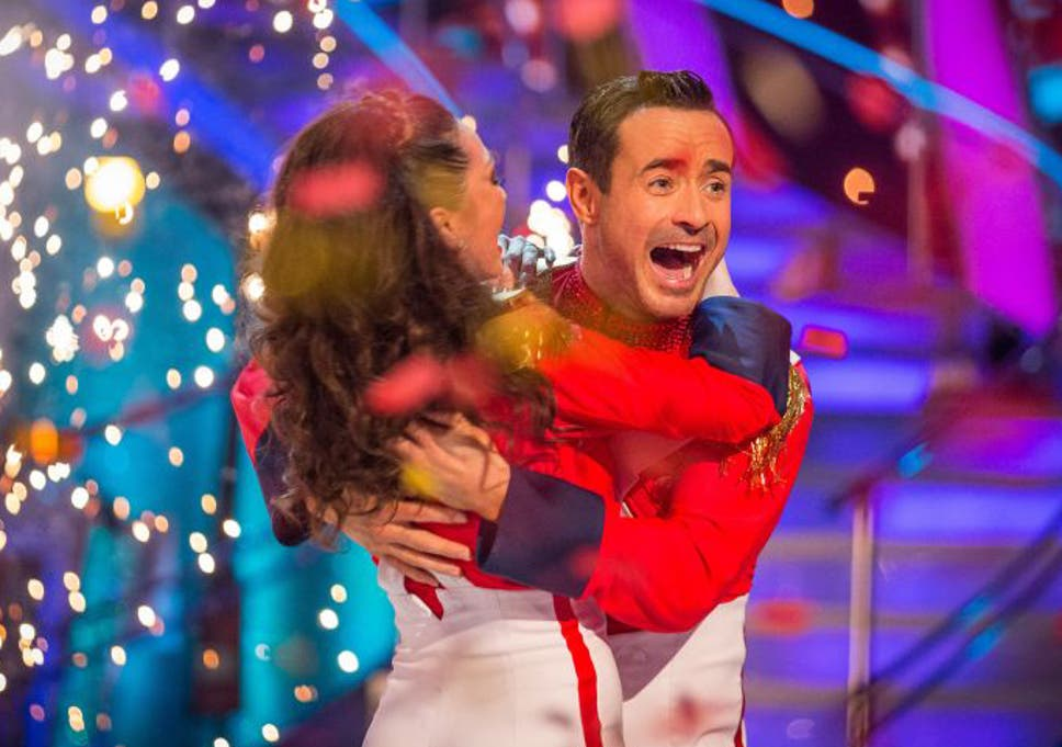 100e10ada78 Katya Jones and Joe McFadden react as they are announced as the winners of  the final