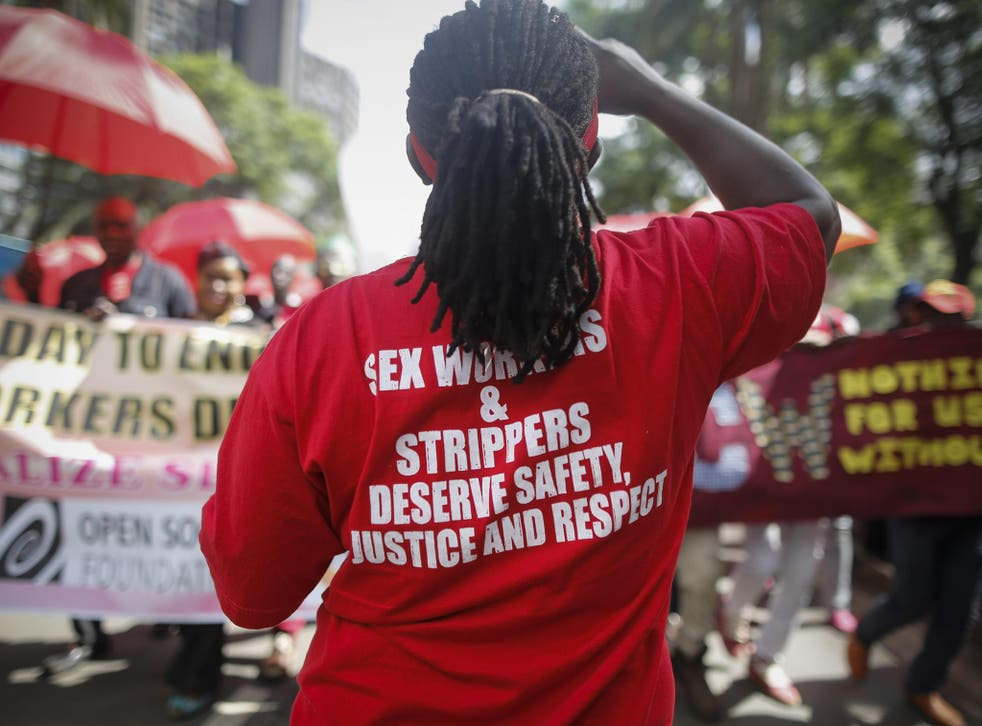 Dangerous laws prevent sex workers from engaging with the police for fear of their own arrest.