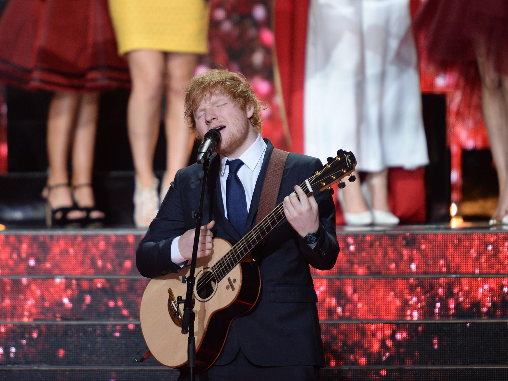 Ed Sheeran has written a James Bond song just in case he gets asked
