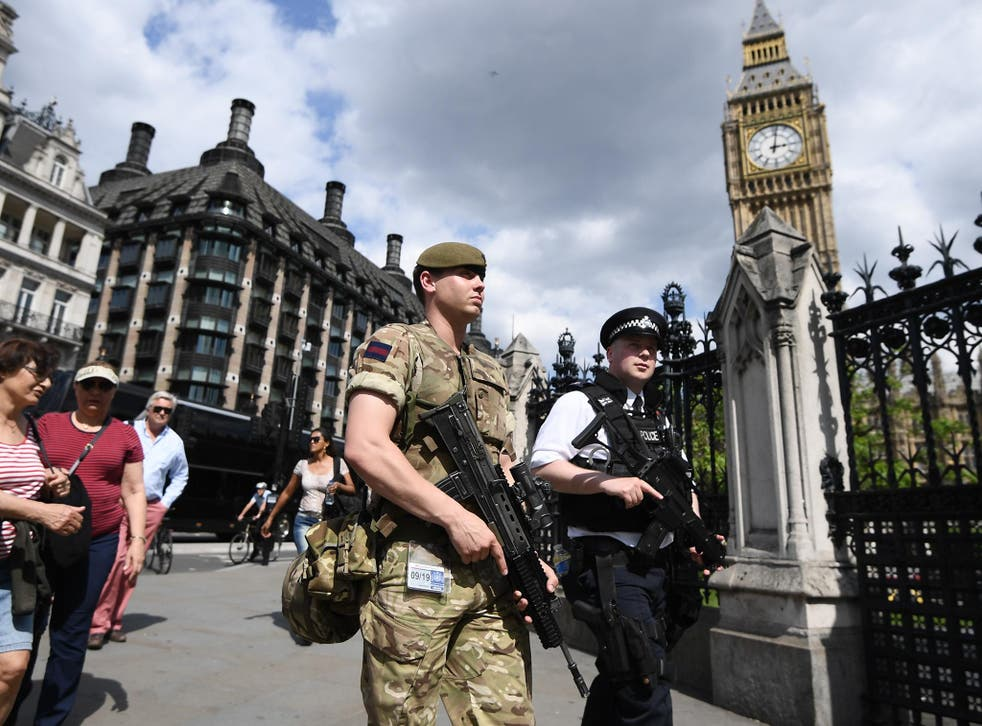 A survey by Ipsos MORI across 28 countries shows 65 per cent of people in the UK fear a terror attack will take place on home soil this year – more than any other country