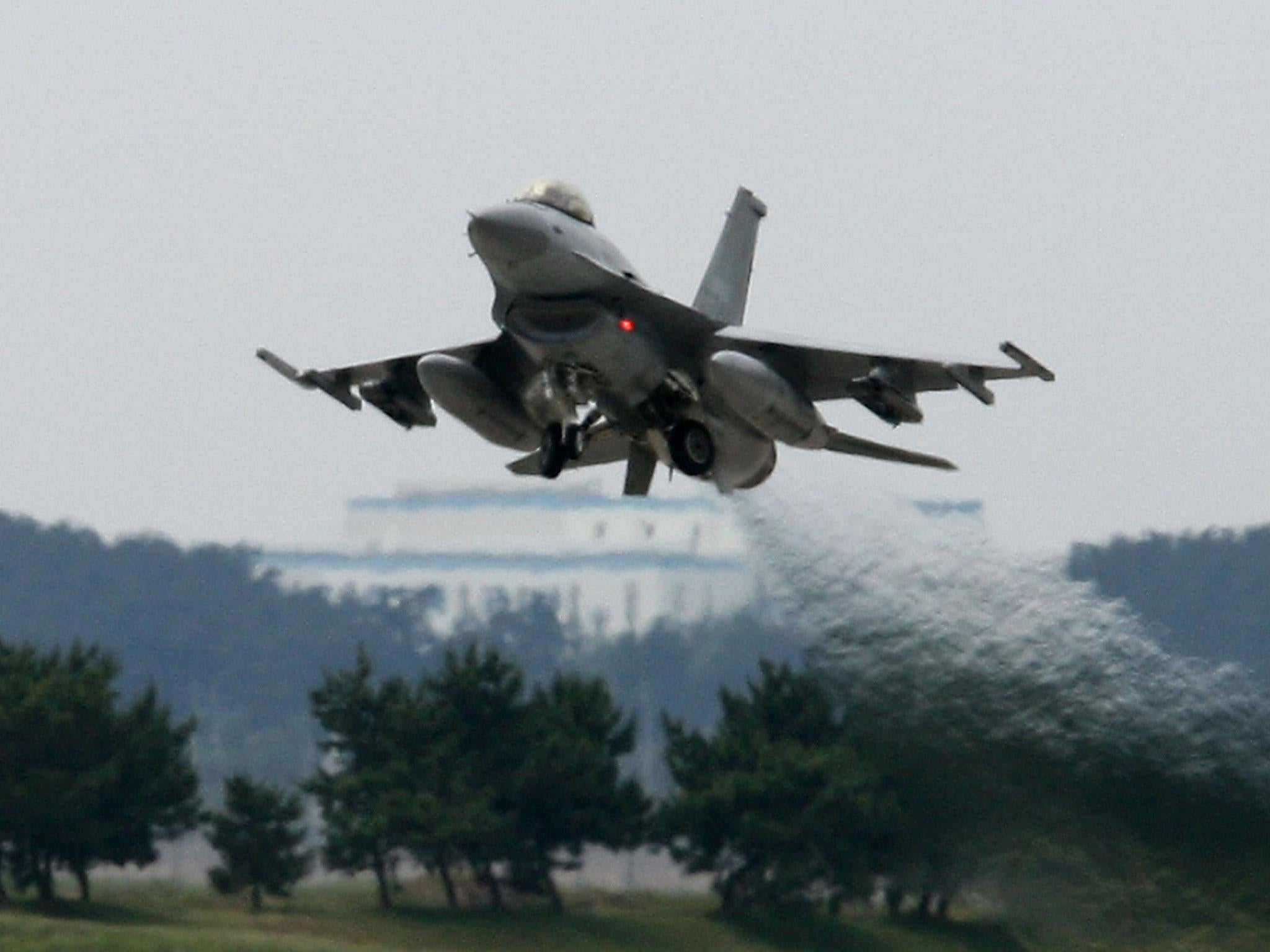 South Korea scrambles fighter jets after China military planes enter country's airspace