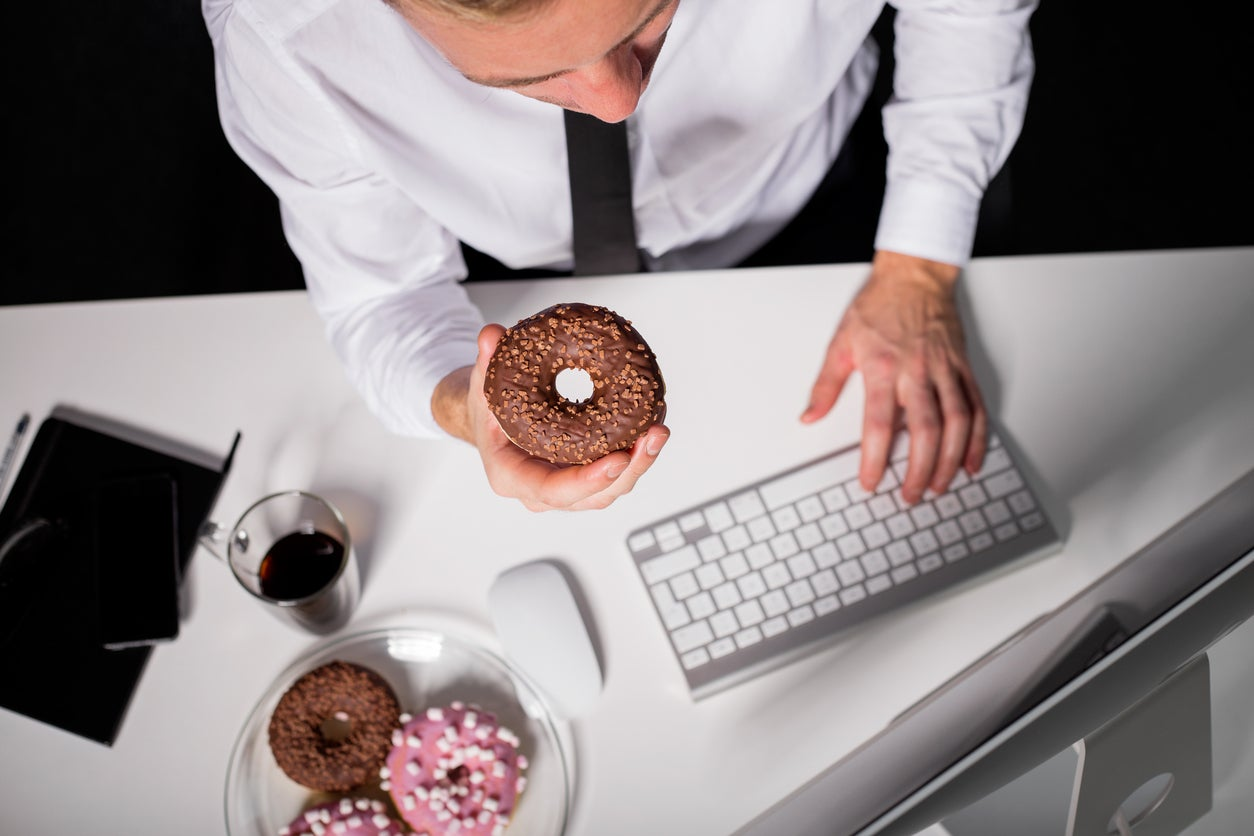 Your job could be making you gain weight, claims study