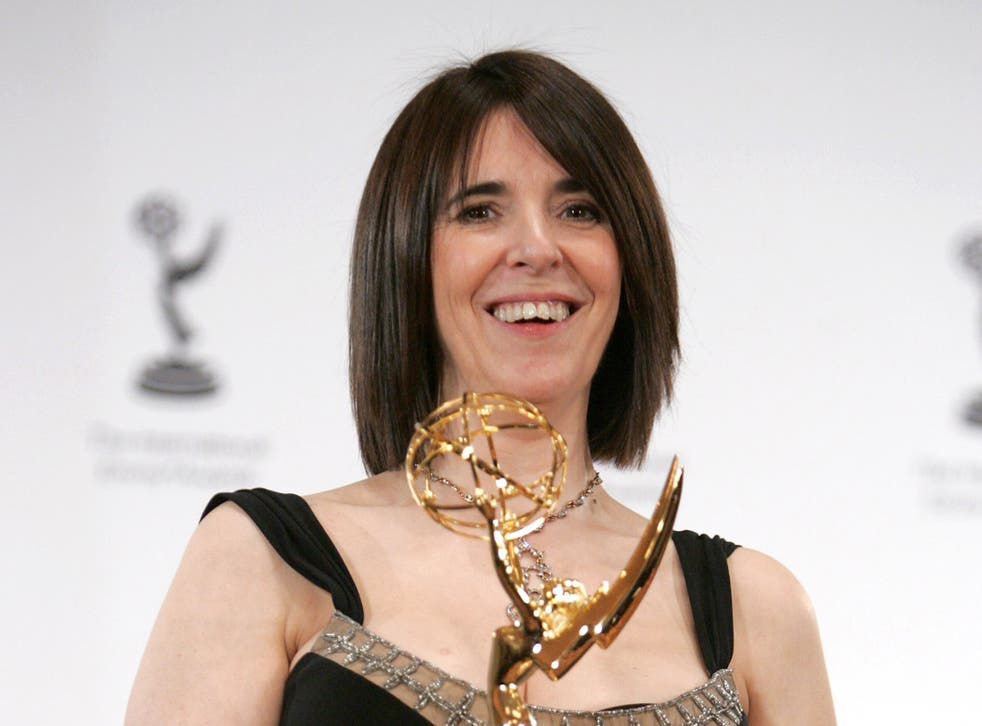 Llewellyn picking up an Emmy in 2006 for 'Ramsay's Kitchen Nightmares'