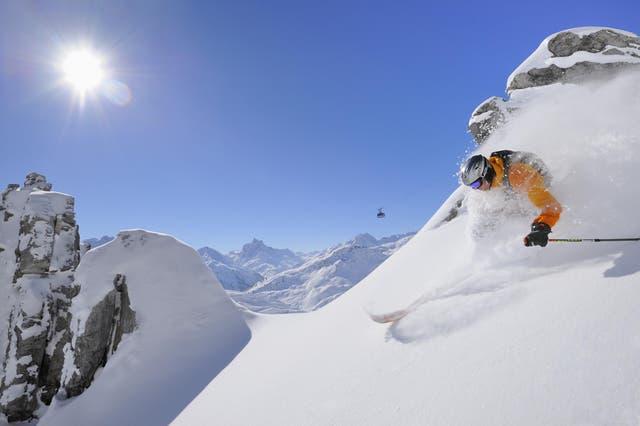 Austria's Arlberg range is braced for some impressive snowfall