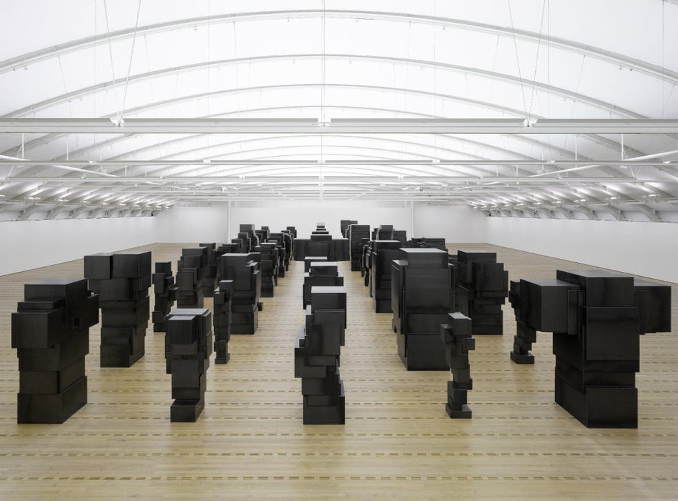 'Sleeping Field' by Antony Gormley, taken from Martin Caiger-Smith's overview of the artist's work