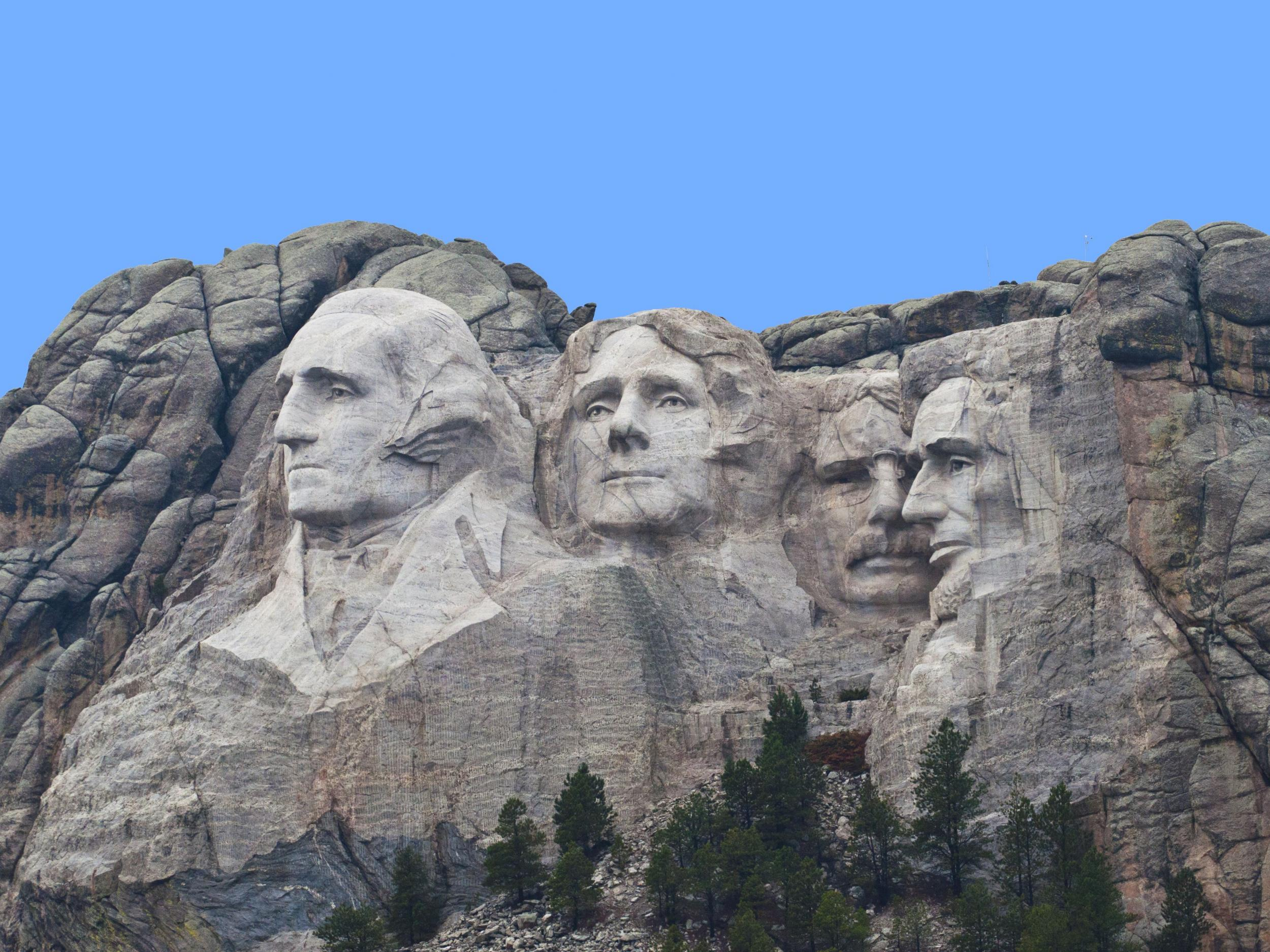1. Under Cover Mount Rushmore (Keystone