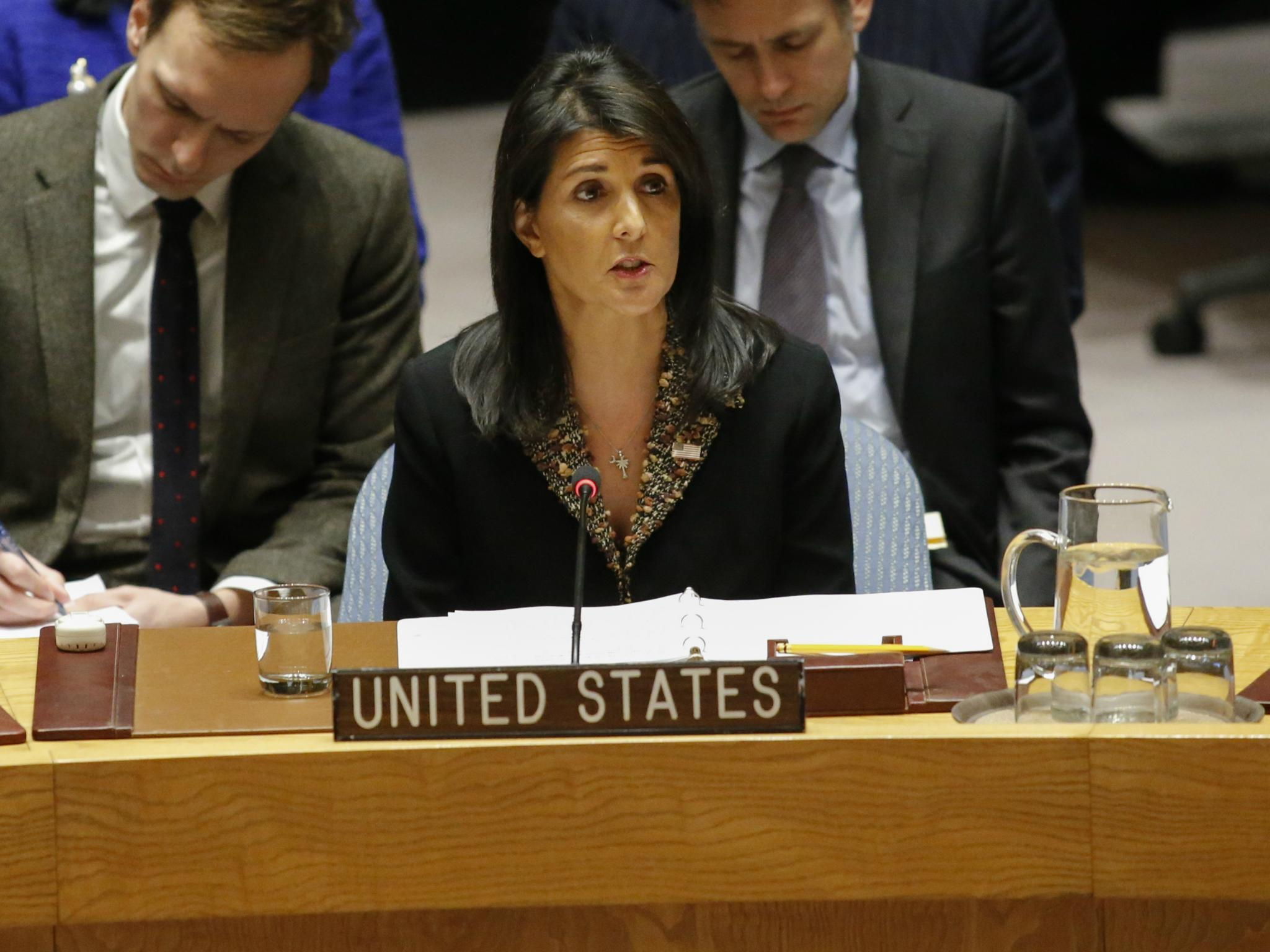 Nikki Haley 'tricked' by Russian pranksters into talking about fictional country 'Binomo'