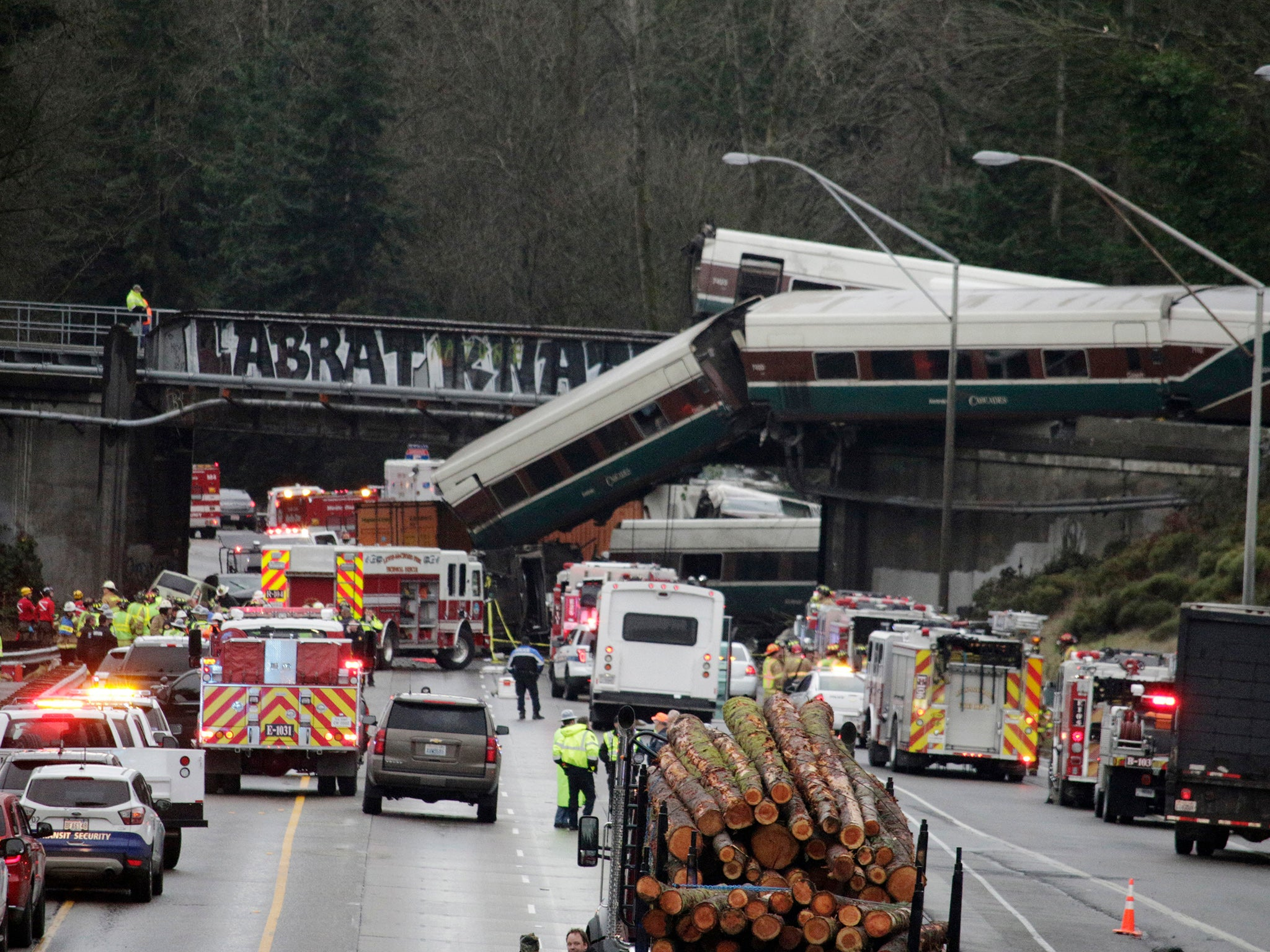 Washington Train Crash Investigators Turn To Injured