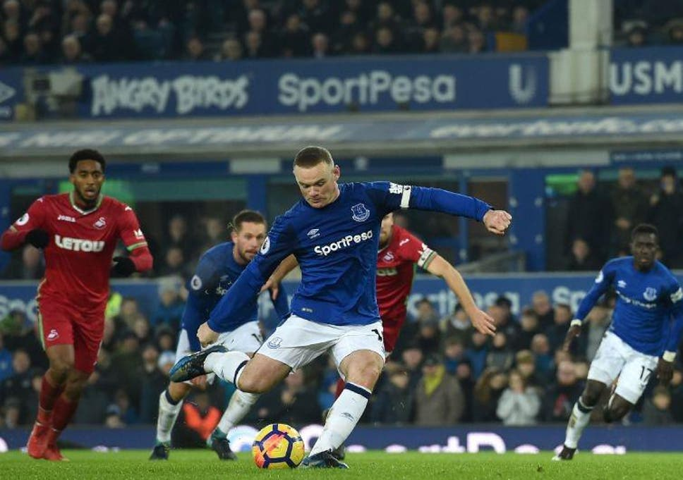f2be6f2f1fb Wayne Rooney missed two penalties but made up for it with a speculative  goal in the