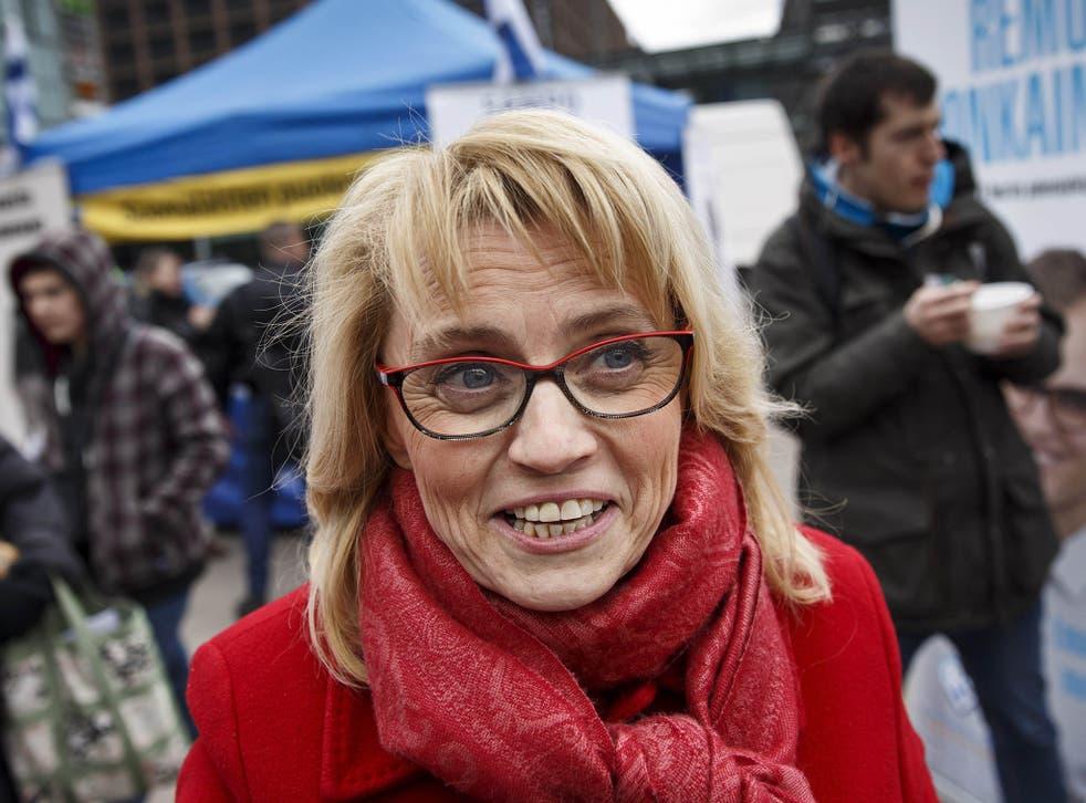 Päivi Räsänen worked as a doctor before becoming an MP