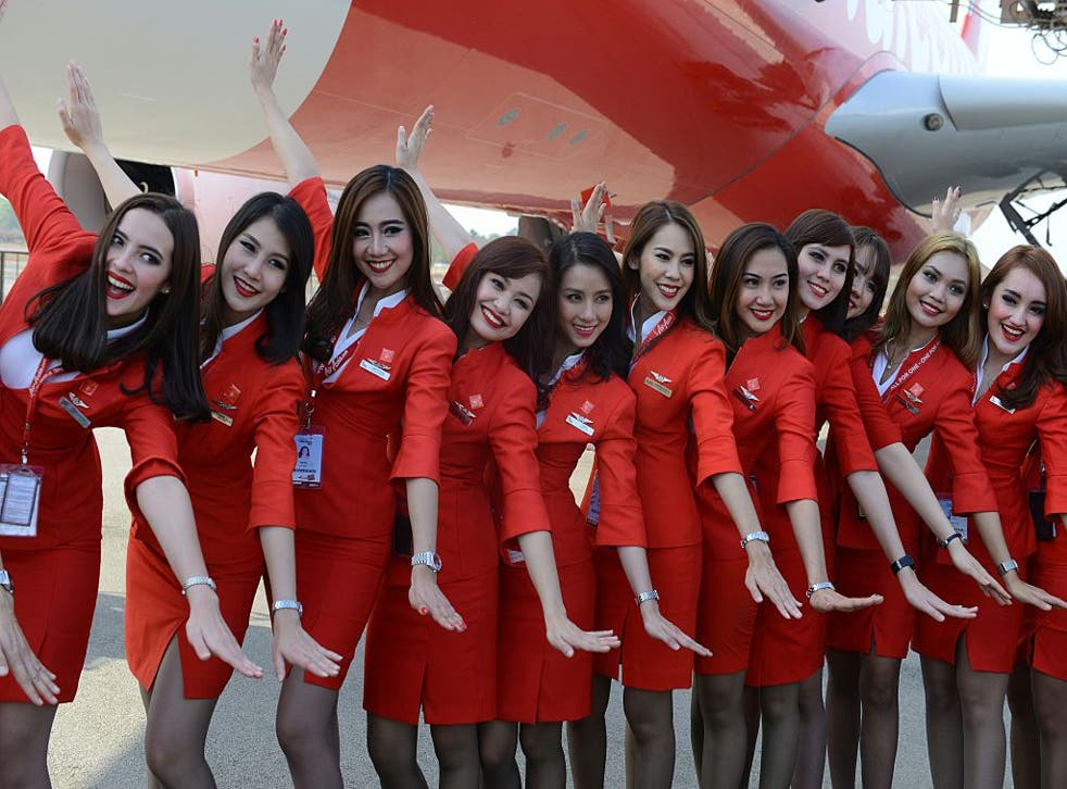 AirAsia cabin crew uniforms are criticised for being 'too sexy'