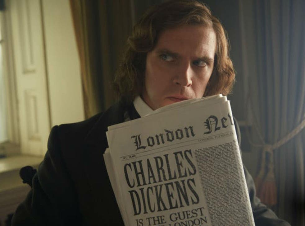 Dan Stevens stars as Charles Dickens in 'The Man Who Invented Christmas'