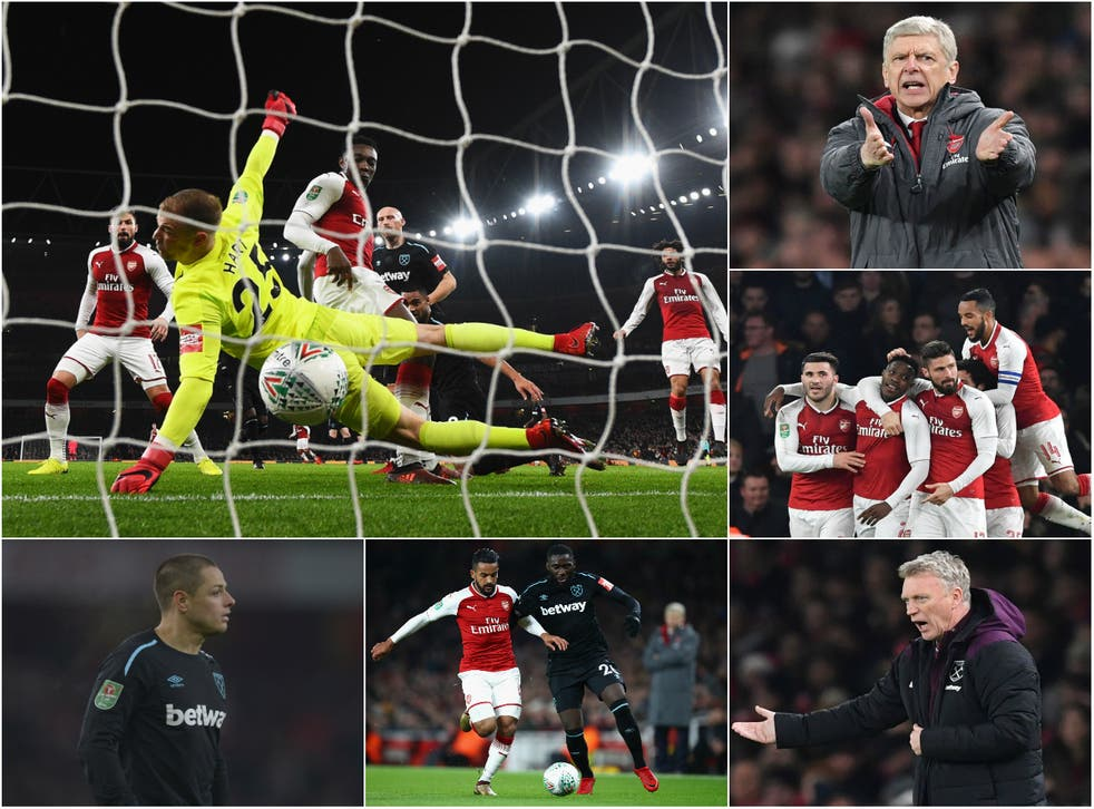 Arsenal are through to the semi-finals of the Carabao Cup