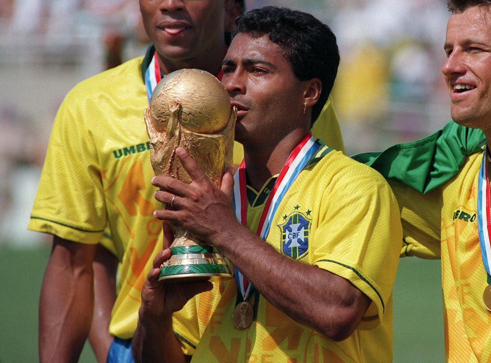 Romario has announced his intention to run for president of the Brazilian Football Confederation