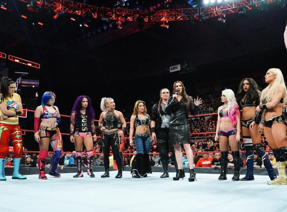 WWE has invested a lot in its Women's Evolution, a multi-year branding effort from which October's pay-per-view gets its name