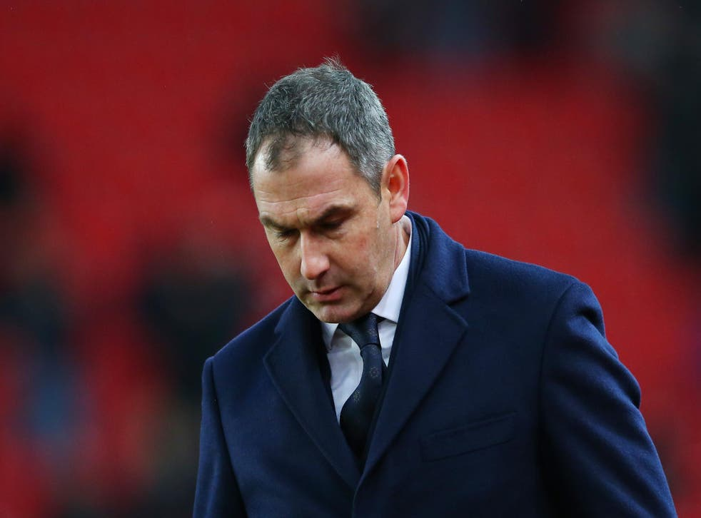 After last season's heroics, Paul Clement has failed to arrest Swansea's poor form this time round