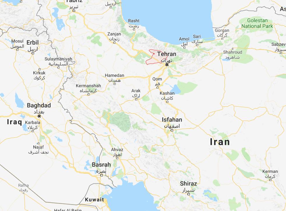 The epicentre was at Meshkin Dasht in Alborz Province, 50 km west of Tehran