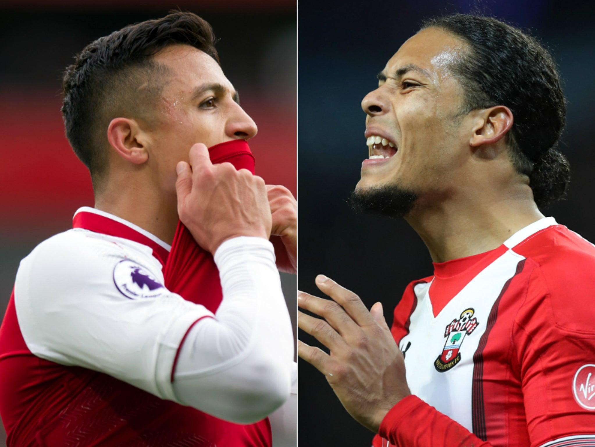 Manchester City transfer plans take shape with Alexis Sanchez and Virgil van Dijk top of Pep Guardiola's wishlist