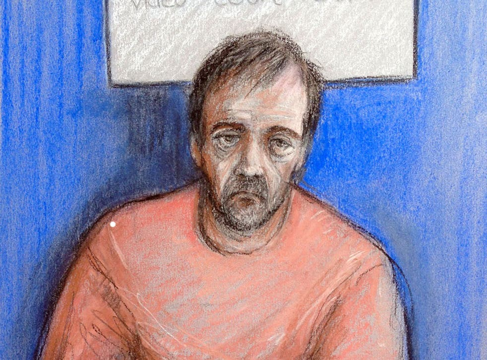Darren Osborne is accused of attempted murder and murder in the Finsbury Park terror attack