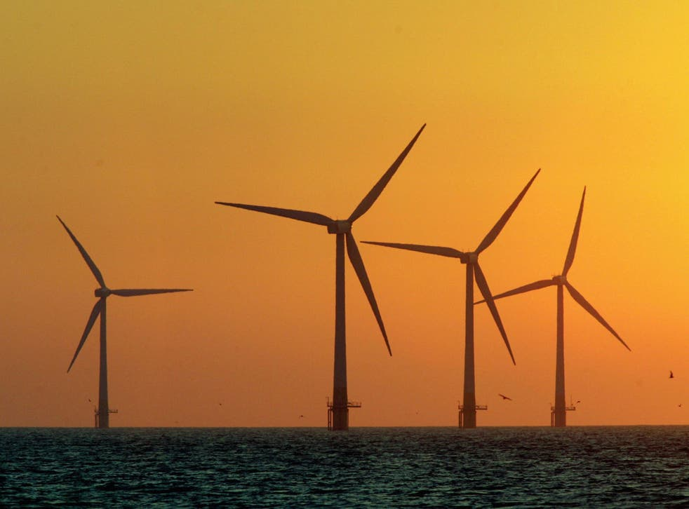 Investment in UK wind power accounts for much of the boost in low-carbon electricity