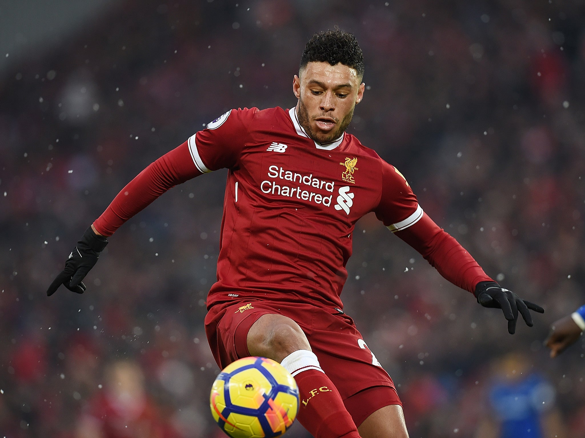 Liverpool New Boy Alex Oxlade-Chamberlain Is Ready To Show
