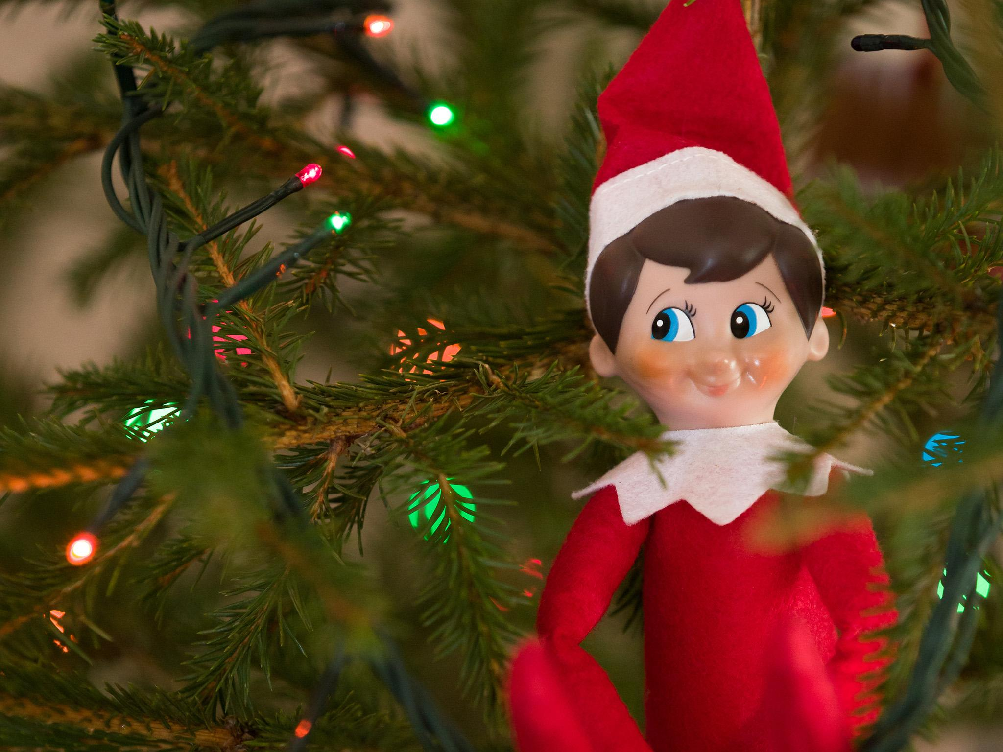 The elf on the shelf a christmas toy for kids or a mind - Christmas elf on the shelf wallpaper ...