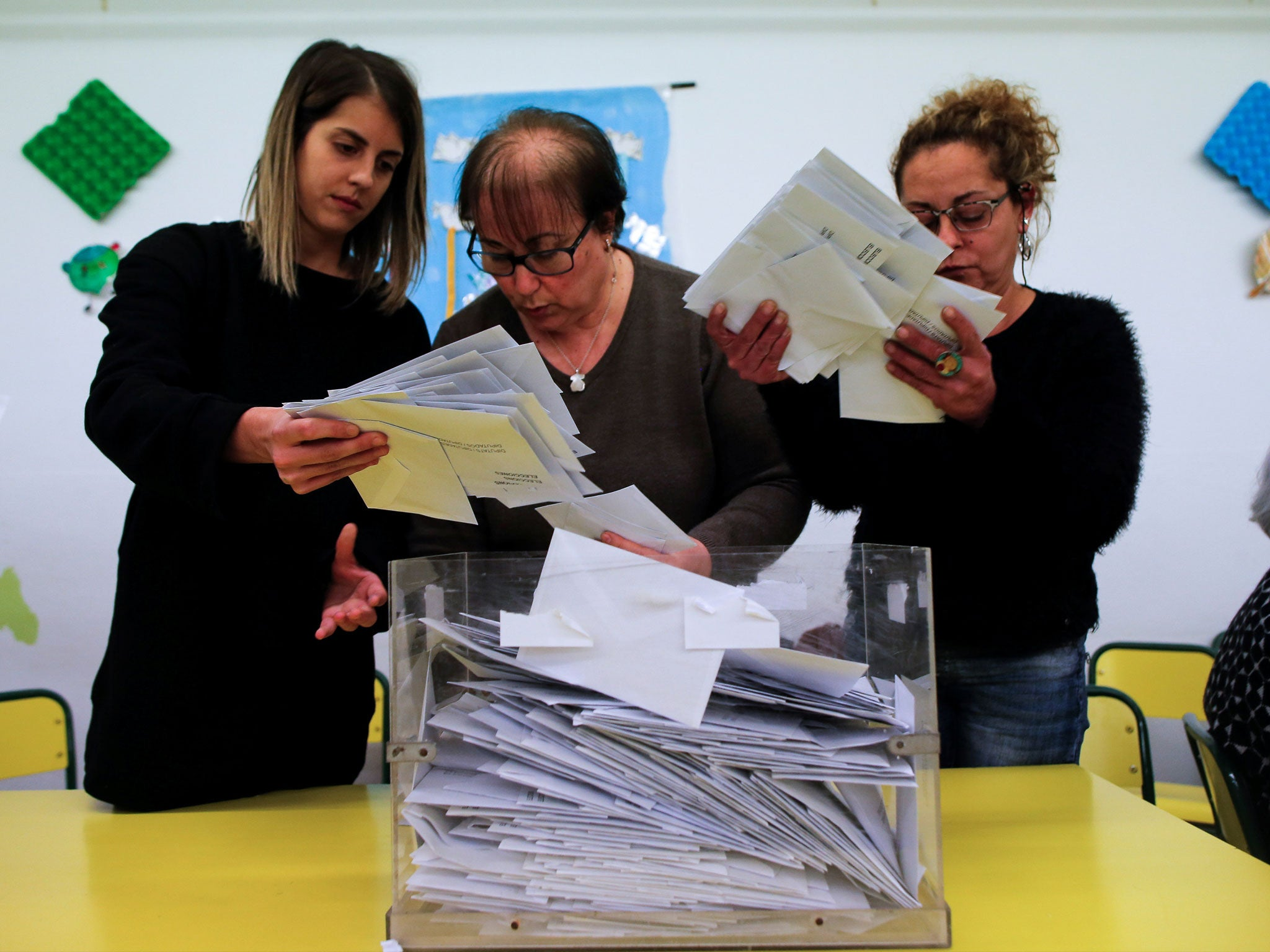 Exit polls are in for Catalan election