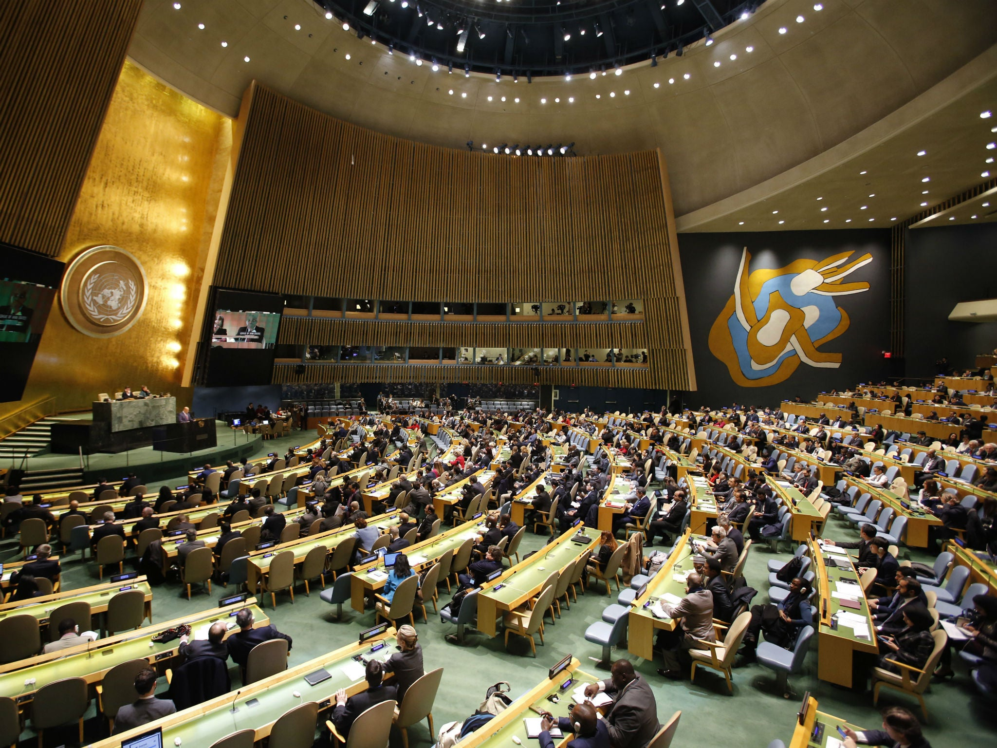 United Nations' condemnation of Trump's 'racist' comments, in full