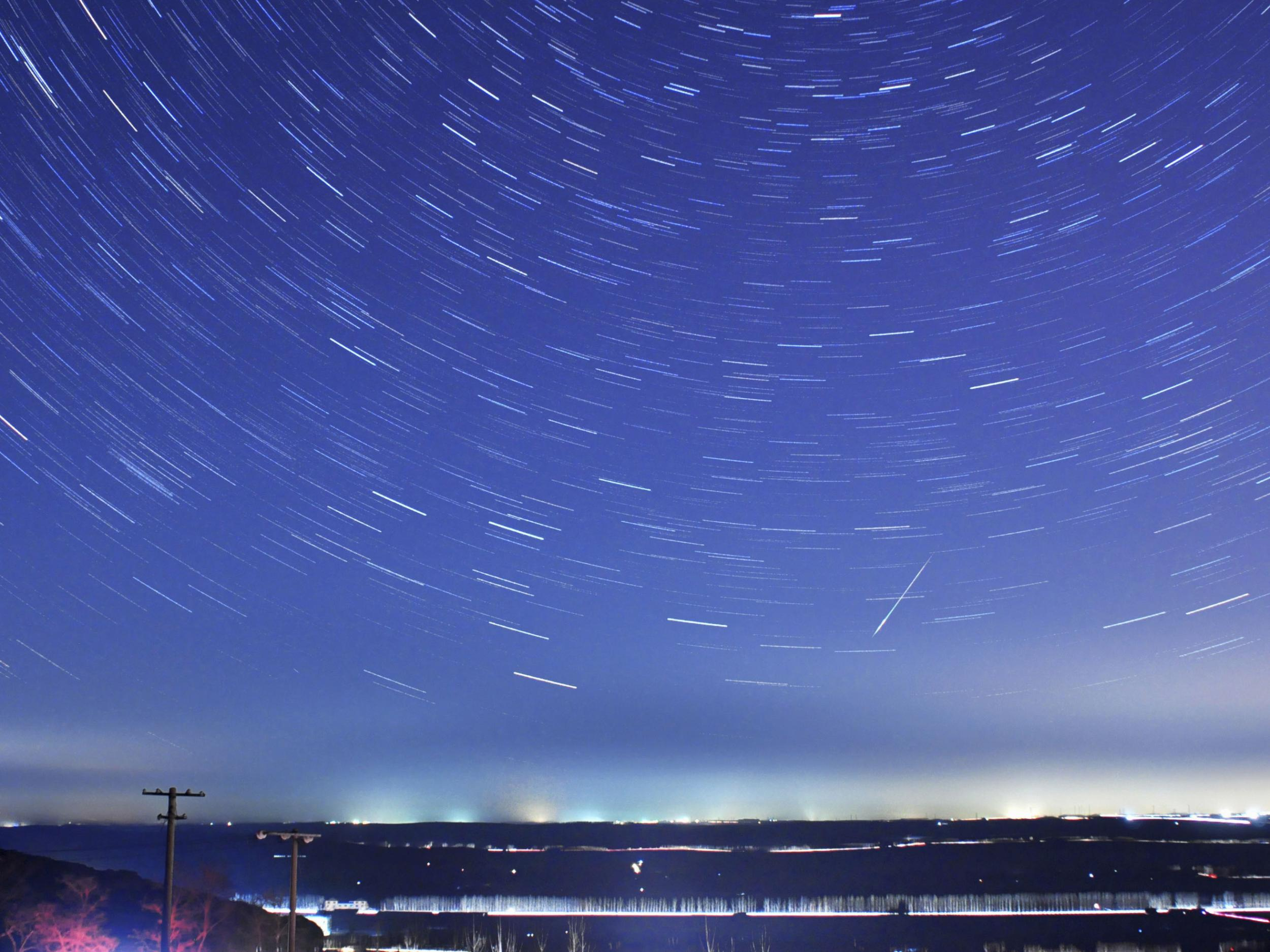 Quadrantids meteor shower tonight will see shooting stars light up the sky