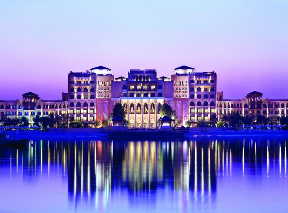 On reflection: The hotel is one of the most opulent in the UAE