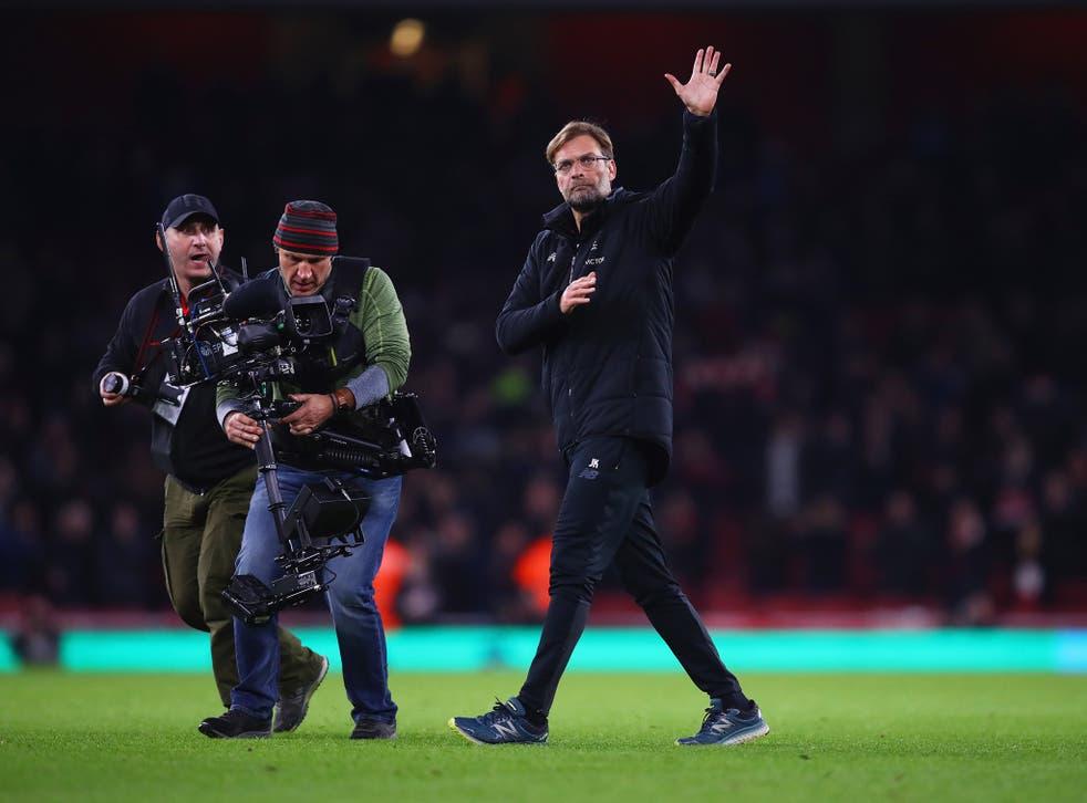 Jurgen Klopp threw a bottle when Liverpool salvaged a draw