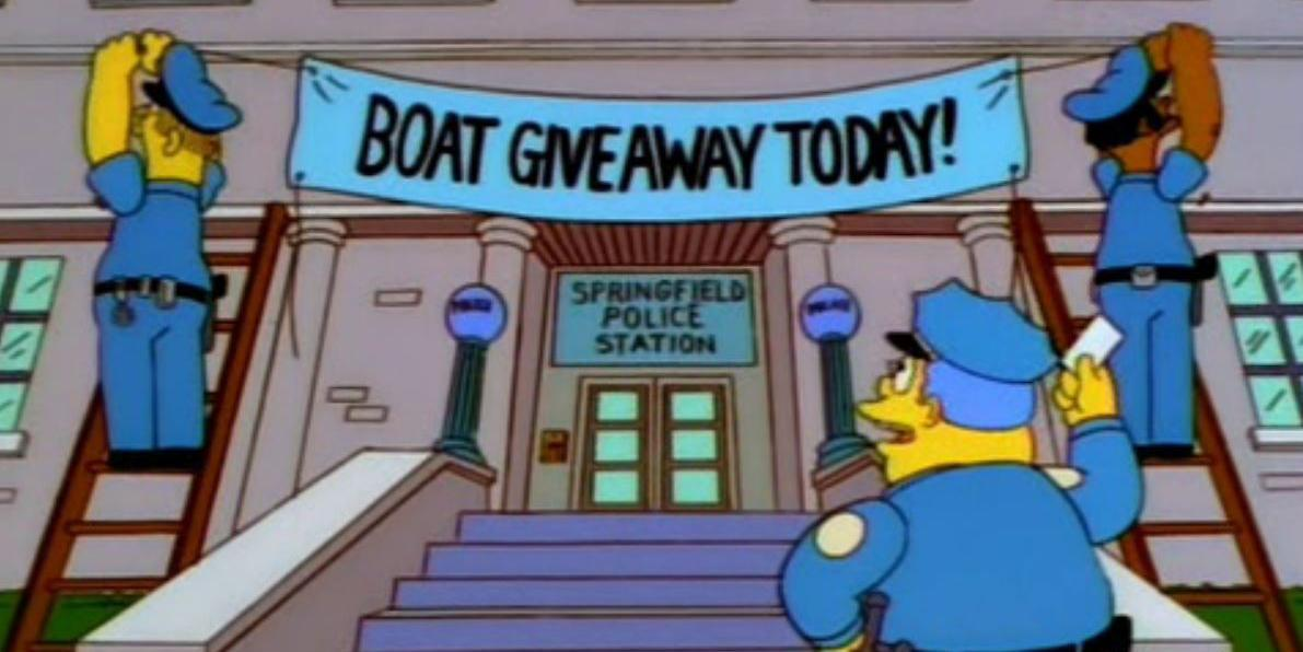 Police used a trick from the simpsons to catch criminals and it actually worked indy100 - Police simpsons ...
