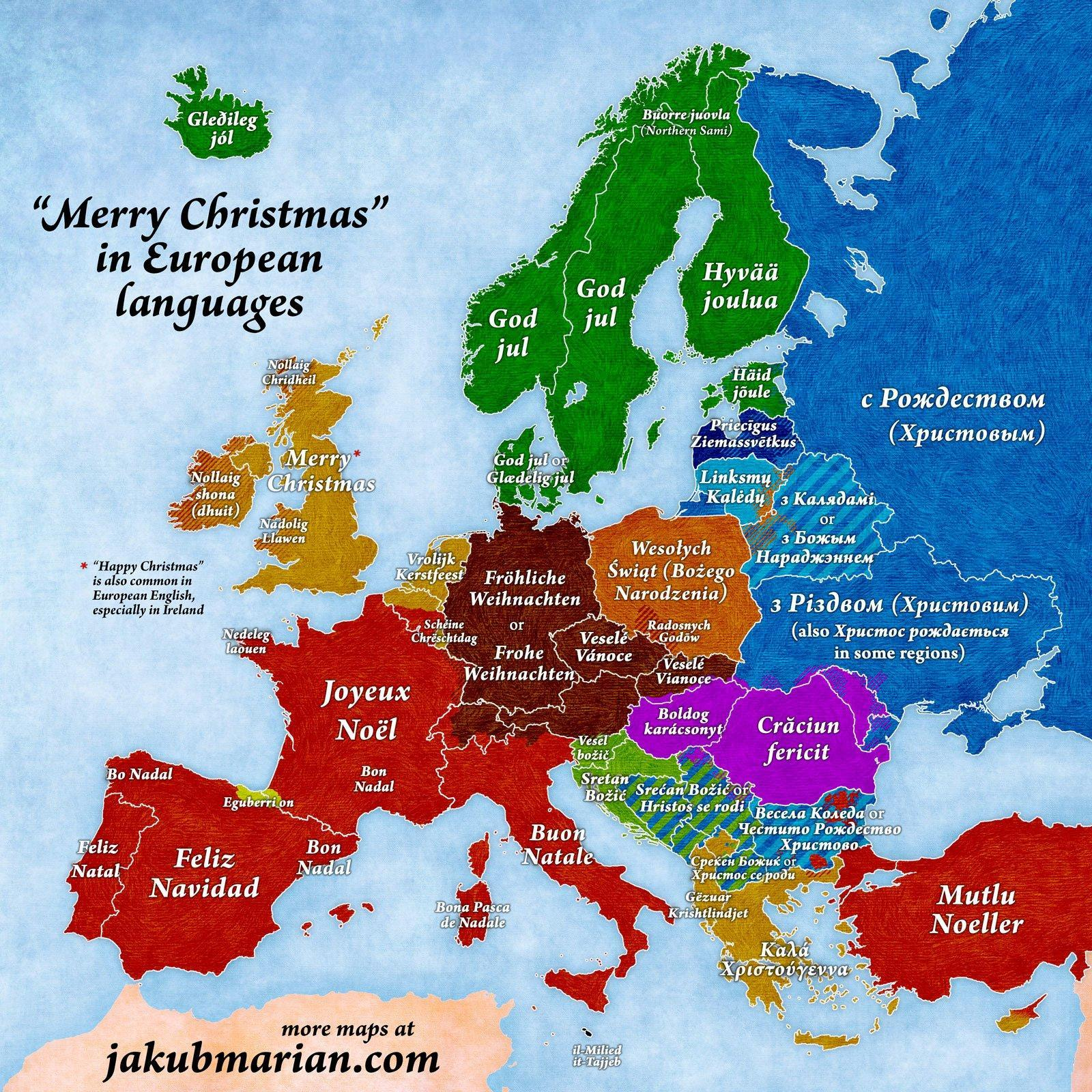 How Do You Say Merry Christmas In Portuguese.How To Say Merry Christmas In Different Countries Across Europe