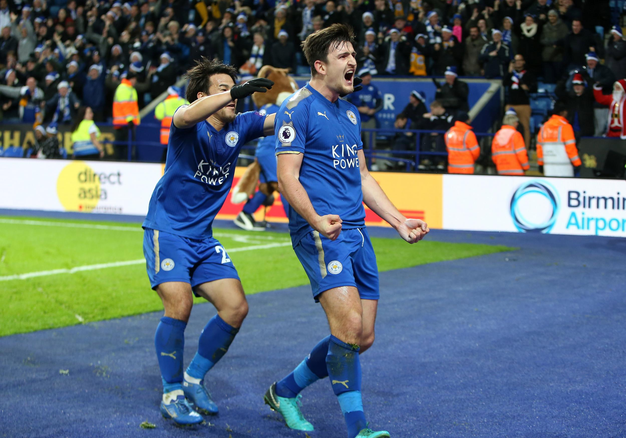 Manchester United denied at the death by Harry Maguire's late equaliser for Leicester