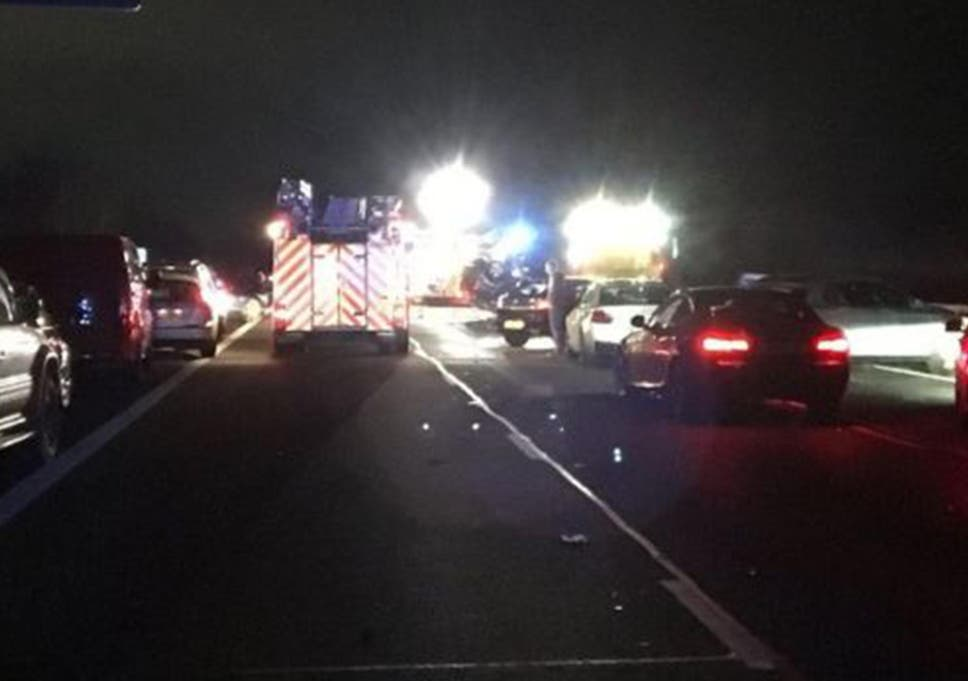 Two die as serious crash involving multiple vehicles shuts M40