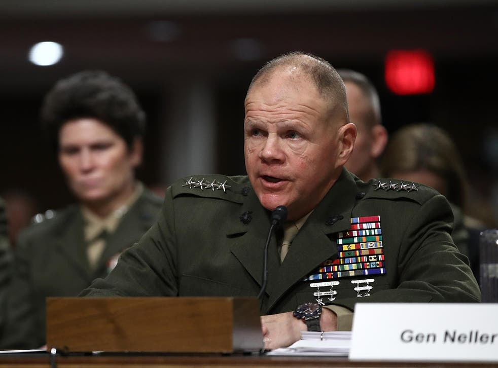 Commandant of the Marine Corps General Robert Neller says he expects the Pacific and Russia to be the focus of future conflicts outside of the Middle East